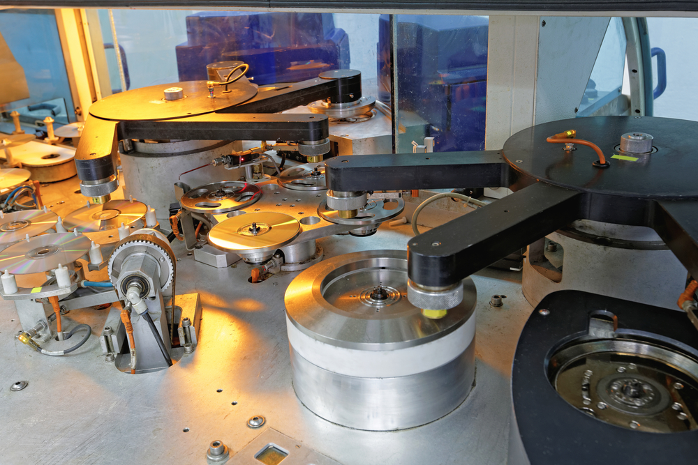 Duplicacion cds dvds Fabricación industrial
