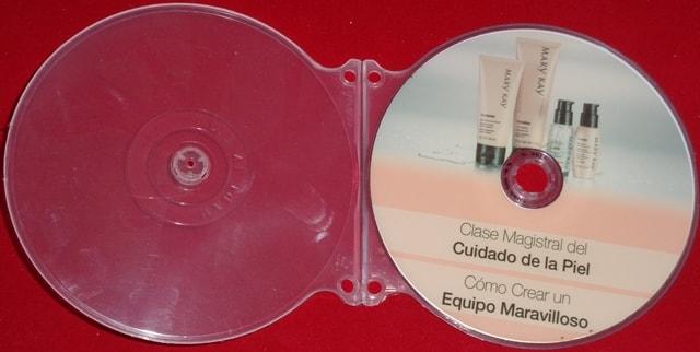 Caja shell para cd abierta.