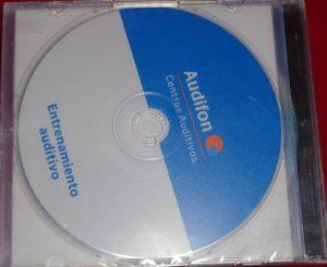 Porta cds caja slim bandeja transparente