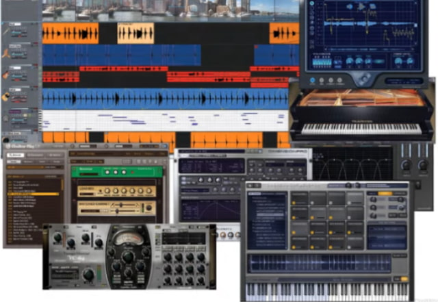 Grabar musica software sonar.
