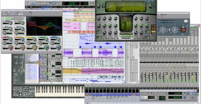 Grabar musica software hogareño.