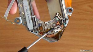 Como funciona el lector de un Cd Rom mecánica