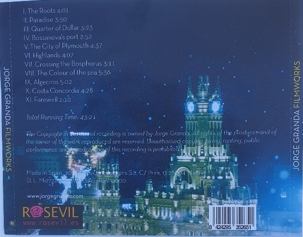Caratula cd personalizada contraportada caja