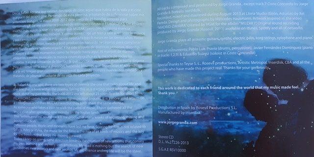 Caratulas cd personalizadas imagen interior de libreto