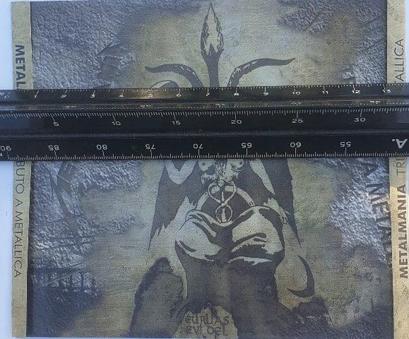 Medidas caja cd contraportada lomos plegado