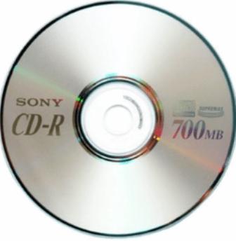 HP 52x Lightscribe 700MB 80 minutos medios de CD-R-Paquete de 50